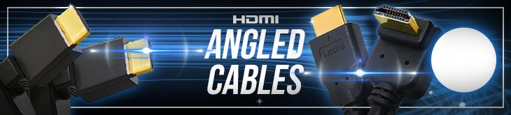 Angled HDMI Cables