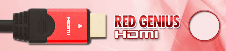 Red Genius HDMI Cable