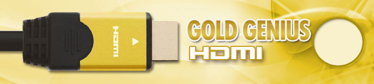 Gold Genius HDMI Cable