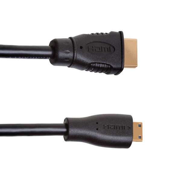 2.5m Mini HDMI to HDMI Cable, compatible with Xbox 360
