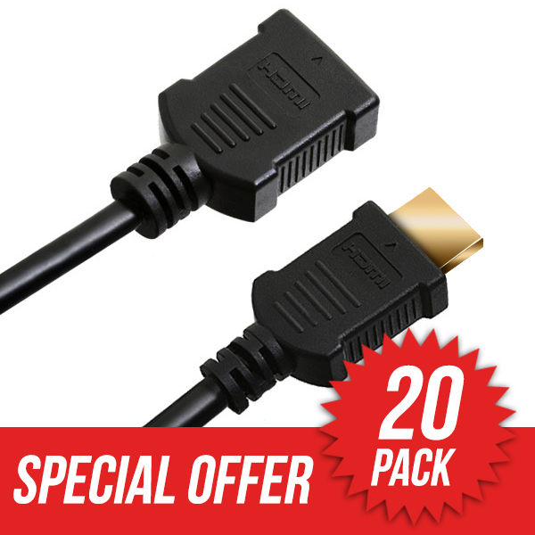 20 Pack 5m HDMI Extension Cable