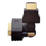 HDMI Male to DVI Male 360� Rotate & Swivel Adapter