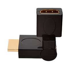 HDMI Male to HDMI Female 360� Rotate & Swivel Adapter (AD12)