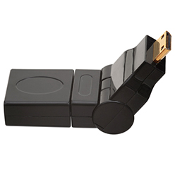 HDMI MINI Male to HDMI Female 360° Rotate & Swivel Adapter (AD15)