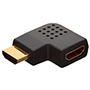 HDMI Female to HDMI Male Vertical Flat Right 90° Angle HDMI Adapter (AD16)