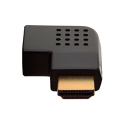 HDMI Female to HDMI Male Vertical Flat Right 270° Angle HDMI Adapter (AD17)