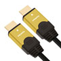1m HDMI Leads - Gold genius