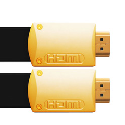 10m HDMI Cable - Ultra Flat Gold