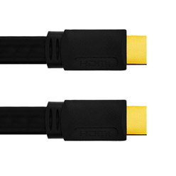 13m HDMI Cable, compatible with 3D - Premium Flat HDMI Cable