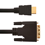 5m HDMI Male to DVI Male Cable