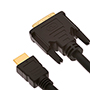 7m HDMI Male to DVI Male Cable (HDVM7)