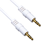 7m Premium 3.5mm to 3.5mm White Audio Cable (PA7WHT)