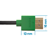 0.5m HDMI Cable, compatible with Sony
