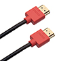 3m 4K HDMI Cable - Smallest Head SUPREME RED 'In The World' (4SH3RED)