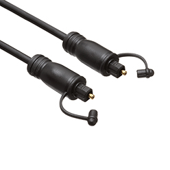 1m Ultimate Black Toslink Cable M to M (UBT1)