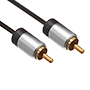 2.5m Ultimate Platinum 1 RCA to 1 RCA Cable (UP1R2.5)