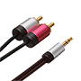 4m Ultimate Platinum 3.5mm  Audio to 2 RCA Cables (UPA2R4)