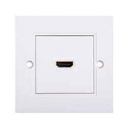 HDMI High Speed With Ethernet Wall Plate 1xHDMI F/F (WS1)