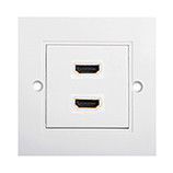 HDMI High Speed With Ethernet Wall Plate 2xHDMI F/F
